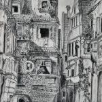 Bleistift- und Kohle-Galerie