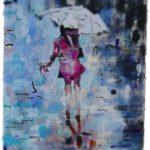 Regen in Gouache (c) Andreas Erber