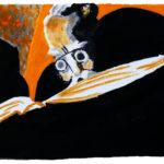 Der Bücherfresser (nach Bill Bragg) (c) Andreas Erber
